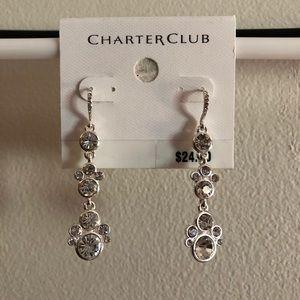 NWT - never worn!  Charter Club Dangle Earrings